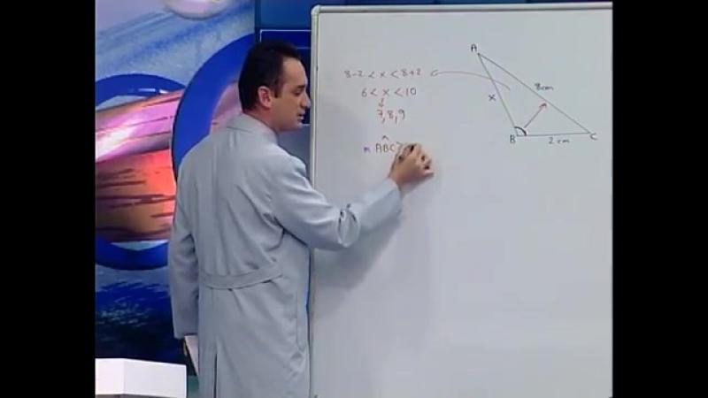 Üçgende açı Kenar Bağıntıları - BİL IQ YGS Geometri Eğitim Seti