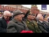 """Сводный оркестр исполнил песню """"Мы – армия народа"""" на Красной площади"""