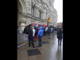 iPhone 7 23.09.2016. Москва. Красная площадь. Гум. 7:40утра! Большая очередь за iPhone 7. Куда мир катиться?! Как же нас запад з