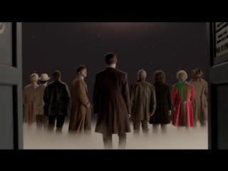 Доктор Кто (отрывок - конец серии День Доктора) (1)