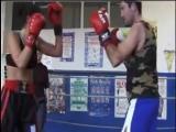 female wrestling and mixed boxing Sofia vs Tom