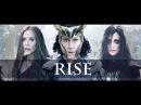 Hela Loki Scarlet Witch Thor ragnarok Rise State of Mine
