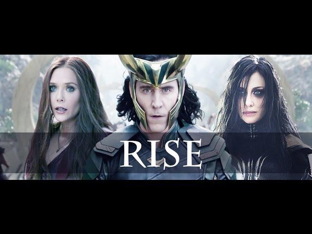 Hela, Loki, Scarlet Witch. (Thor ragnarok)- Rise(State of Mine)