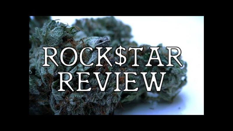 MARIJUANA MONDAY BUD REVIEW - ROCK$TAR
