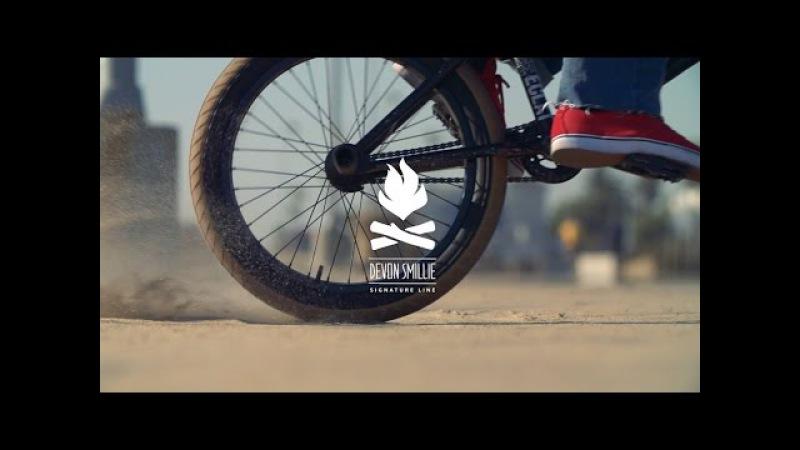 Devon Smillie Flybikes Fuego Tire Promo - BMX