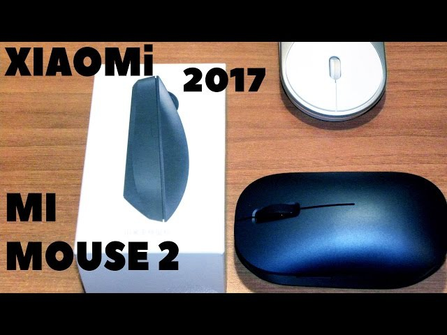 Xiaomi Wireless Mouse 2017 2.4Ghz 1200dp НОВАЯ беспроводная мышь, обзор и распаковка с алиэкспресс