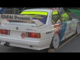 PURE SOUND, Six BMW M3 E30 Sport EVO 2.5 at Bergrennen Gurnigel 2015. The Golden Years of DTM-Cars!