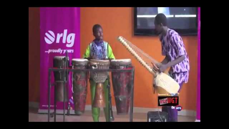Musafily Jobarteh - The Gambia's Youngest drummer
