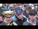 Спортсмены охраняют Бессмертный полк 9 мая Киев 2017