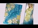 Платье Акварель - ирландское кружево. Irish crotchet lace.