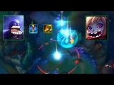 LoL Best Moments #114 Try not to laugh with Ryze vs Poppy combo (League of Legends )