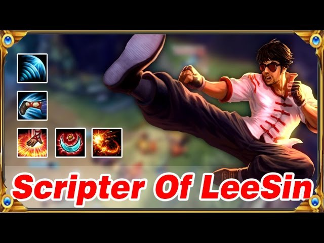 Scripter Of LeeSin - Best Pro Outplays Compilation | League of Legends