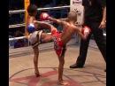 3 - fight, round 1 children kids Muay Thai Pattaya Thailand 2005