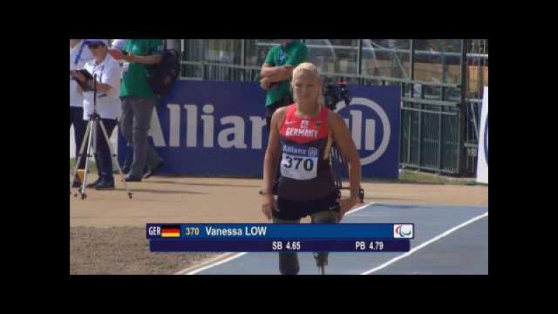 Women's long jump T42-44 | final | 2016 IPC Athletics European Championships Grosseto