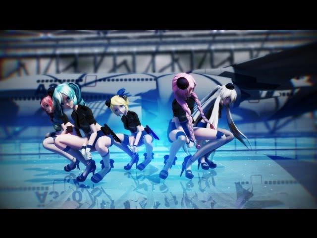 【MMD】 ♡ Sexy Love ♡ 【Eng Sub】【Luka,Haku,Miku,Rin,Teto】