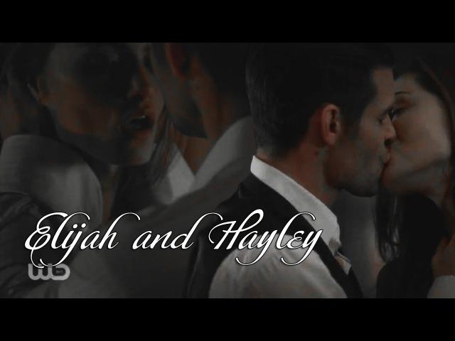 Elijah Hayley || Элайджа Хейли || Губами по телу (4x03)