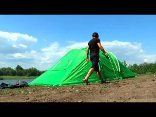 Обзор кемпинговой палатки Raffer Grand