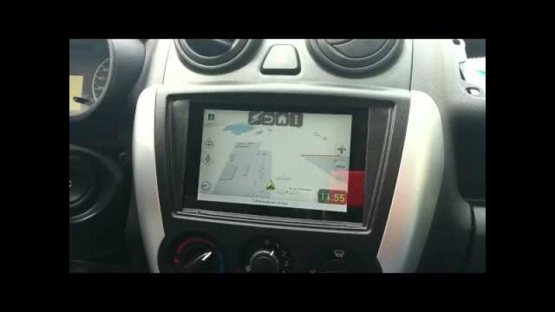 Nexus 7 в автомобиле лада Granta или CarPC ver. 2.0