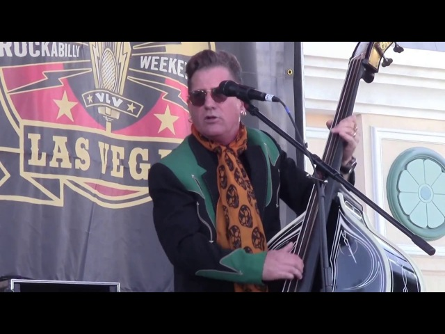 Lee Rocker ~ Rock This Town Viva Las Vegas 2017