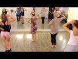Cuban salsa lady style | Ksenia Ksunami group | Ya no Hace Falta