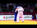 GS Baku 2017, +100 kg, fight for the bronze, Duurenbayar Ulziibayar(MGL)-Stanislav Bondarenko(UKR) vk.comdzigoro_kano