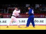 GS Baku 2017, 81 kg, bronze medal contest, Atilla Ungvari(HUN)-Kenya Kohara(JPN) vk.comdzigoro_kano