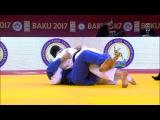 GS Baku 2017, 90 kg, bronze medal contest, Ushangi Margiani(GEO)-Tural Safguliyev(AZE) vk.comdzigoro_kano-