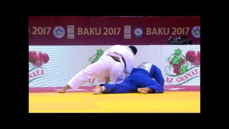 GS Baku 2017, 100 kg, final, Elmar Gasimov(AZE)-Michael Korrel(NED) vk.com/dzigoro_kano