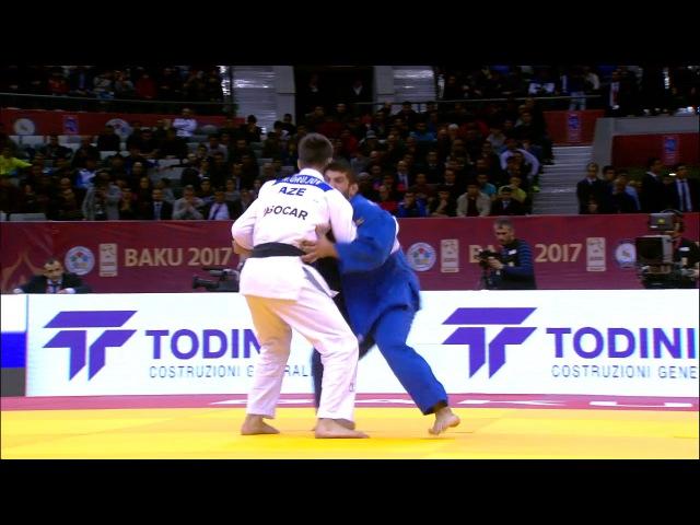 GS Baku 2017 73 kg fight for the bronze Lasha Shavdatuashvili GEO Rustam Orujov AZE dzigoro kano