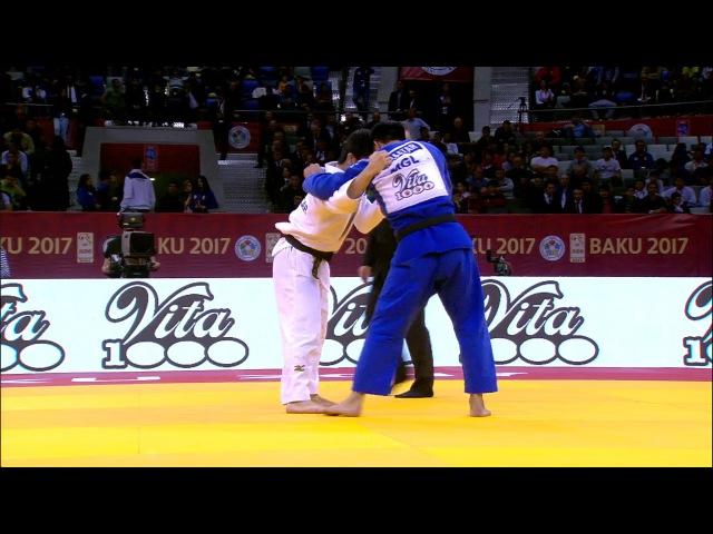 GS Baku 2017, 73 kg, final, Odbayar Ganbaatar(MGL)-Riki Nakaya(JPN) vk.com/dzigoro_kano