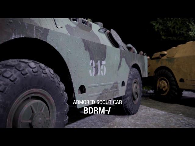 Squad BRDM-2 Showcase (March 2017)