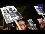Тысячи человек в США вышли на акции протеста против избрания Дональда Трампа
