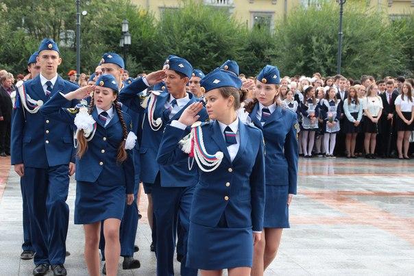 Мэр Хабаровска Александр Соколов дал старт ежегодному смотру патриотической работы образовательных учреждений города под девизом «Во славу отцов и Отечества»