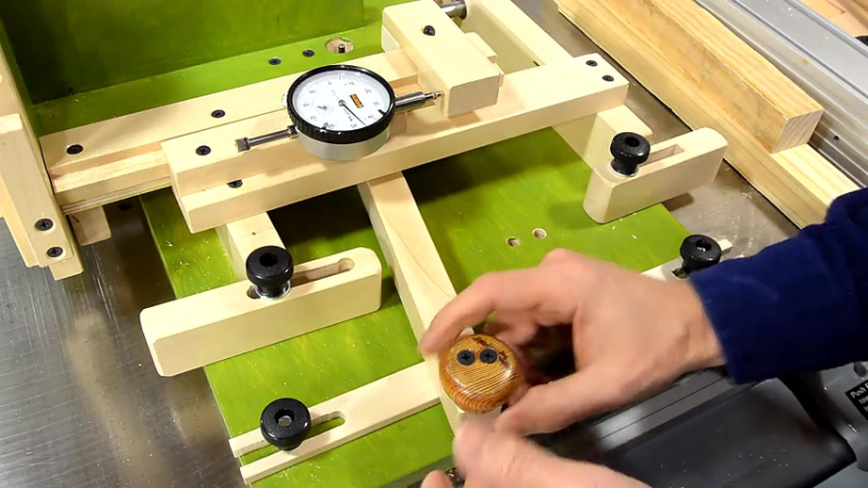 Multilap joint with the quick-set tenon jig - YouTube