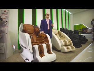 Вилли Токарев - отзыв о массажном кресле YAMAGUCHI Axiom