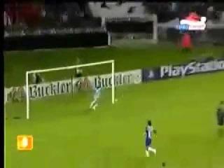 Charles Edouard Coridon's Scorpion Kick -Paris Saint-Germain Against FC Porto 20.10.2004-