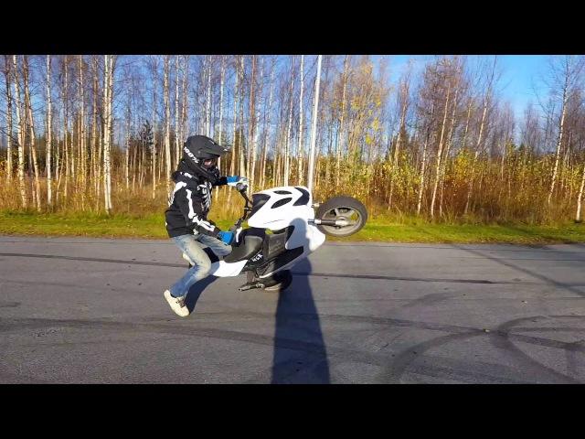 70cc Yamaha Aerox Stunt