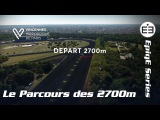 Vincennes Hippodrome de Paris. Дистанция для рысаков 2700m.