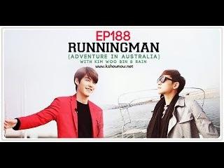 Running Man - Бегущий человек 188.1 (рус. суб) Rain and Kim Woo Bin