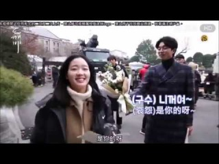 Eng【The Guardian Ep11 12 BTS】Gong Yoo Kim Go Eun are so sweet (watch till last sec)