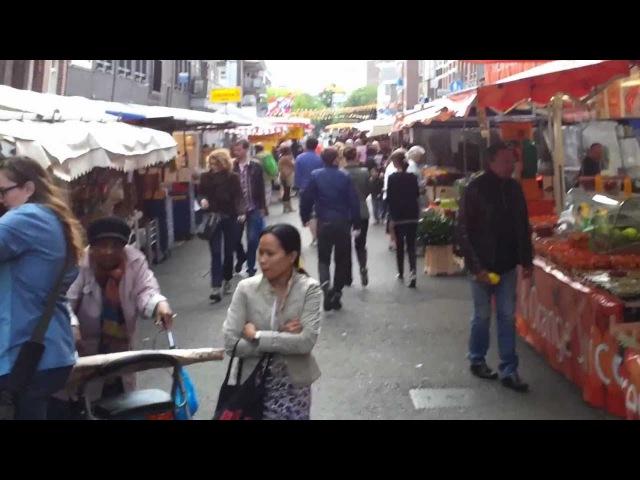 Markt Ten Katestraat Kinker straat Amsterdam