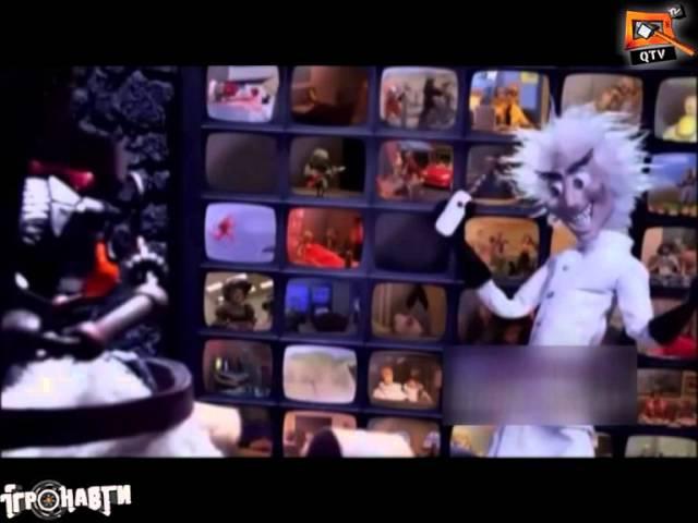 Пятерка мультов, которые прославляют игры - Игронавты на QTV 124 выпуск!