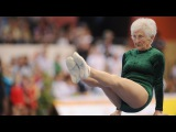 Amazing 91 year old gymnast - Johanna Quaas