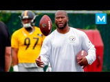 James Harrison NFL Strength Training | Muscle Madness james harrison nfl strength training | muscle madness