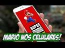 Mario vai sair pros celulares e ações da Nintendo explodem - Gamervlog