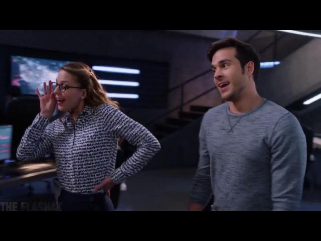 Supergirl 2x14 John Alex Finds Out Kara is dating Mon-El - Part 2