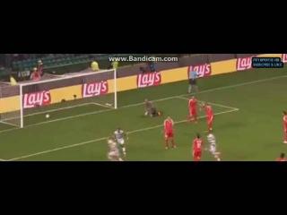 Селтик 5-2 Хапоэль Беэр-Шева 17.08.2016, гол Браун