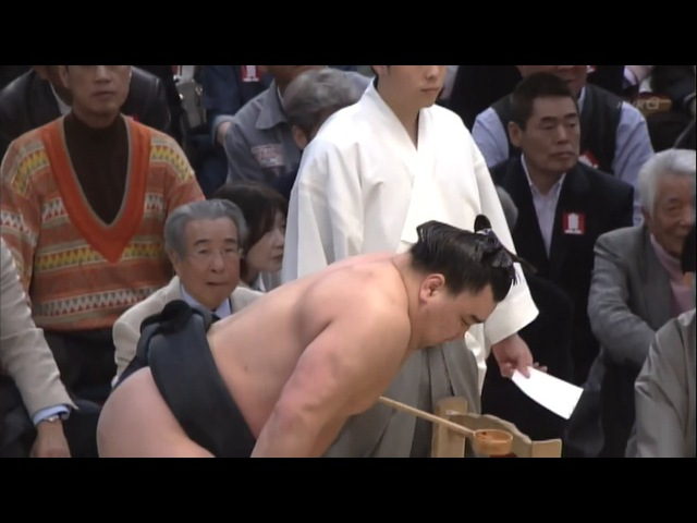 Harumafuji vs Ikioi-21.03.16 日馬富士 VS 勢