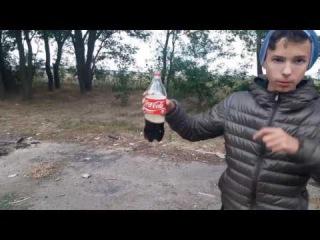 РАКЕТА  ИЗ КОКА-КОЛЫ.  КАК СДЕЛАТЬ РАКЕТУ ПРОСТО И ВЕСЕЛО.  ROCKETfrom coke-cola