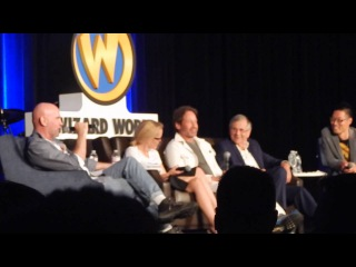 Wizard World Chicago Comic Con X-Files Panel